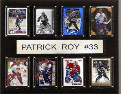 NHL Patrick Roy Montreal Canadian 8 Karten Plakette
