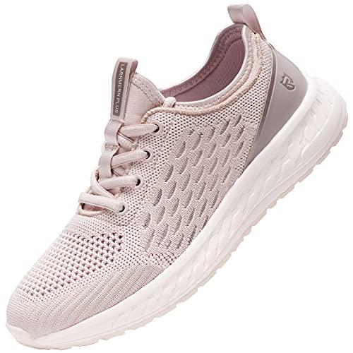 LARNMERN PRO Scarpe da Ginnastica Donna Corsa Sportive Running Sneakers Basse Fitness Atletica Traspiranti Mesh Casual Leggere Outdoor 37 EU