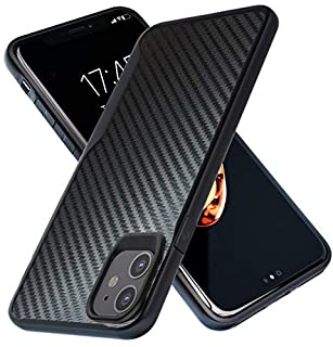 Kitoo Designed for iPhone 11 Case, Carbon Fiber Pattern, 10ft. Drop Tested, Wireless Charging - Black (B07XHR5Q56) | Amazon price tracker / tracking, Amazon price history charts, Amazon price watches, Amazon price drop alerts