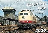 Die Baureihe 103 2020: Kalender 2020 - VG-Bahn