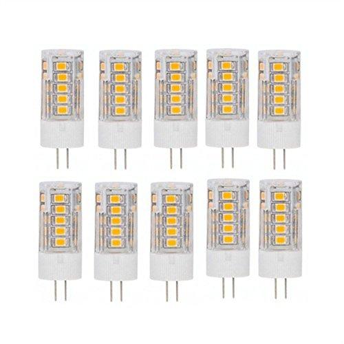 Jdon-LEDs, 10 x LED-lampen, vervanging voor G9/E14, 3 W, halogeenlampen van 30 W, 3000 K / 6000 K, 260 lm