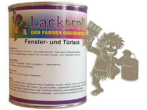 Fenster- und Türlack Gelbgrau RAL 7034 Seidenglanz 750 ml