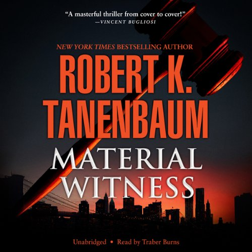 Material Witness audiobook cover art