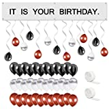 UrbanRed The Office Birthday Decorations Kit, It is Your Birthday Banner The Office Kit, The Office Party Supplies, Its Your Birthday, Dunder Mifflin Decorations