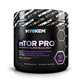 Myokem mTOR PRO Post/Intra Workout BCAA Amino Acid Supplement - Muscle Recovery Drink with BCAAs, EAAs, Leucine, Valine, Isoleucine, Electrolytes and More - Mango Lemonade, 30 Servings