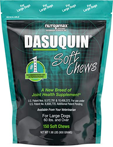 Top 10 best selling list for dasuquin advanced joint health supplement soft chews for large dogs