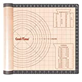 Silicone Pastry Baking Mat Non Stick-Large Rolling Dough with Measurements-Non Slip...