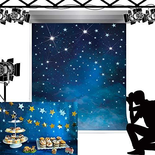 Kate Bokeh Star Light Foto Hintergrund Fantasie Nachthimmel Sfondo pro Studio Puntelli fotografia 5x7ft/1.5x2.2m