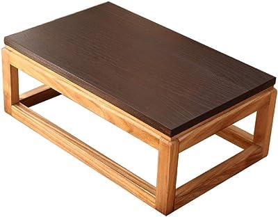Tousmesmeubles Table Basse relevable Chêne Gris/Ardoise ...