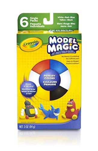 Crayola Model Magic .5 Ounces 6/Pkg-Primary