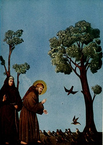 Posterazzi How to Enjoy Pictures 1914 St. Francis feeding the birds Poster Print by Giotto, (18 x 24)
