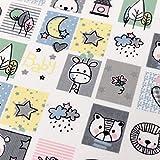 MAGAM-Stoffe Baby Memory Baumwollstoff Kinderstoff Oeko-Tex