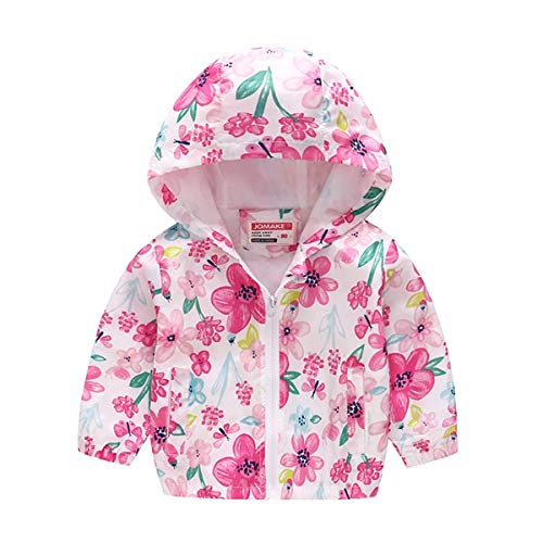 YHSW Chaqueta, Chaqueta cálida para niña de invierno 2021 Nuevo estilo, Fiesta de lana, Chaqueta para la nieve, Chaqueta con capucha 7 Rosa