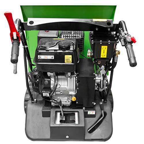 Zipper Mini Dumper ZI-MD500HS mit Kipphydraulik, Raupendumper, Motorschubkarre Kapazität bis 500 kg, Neu – mit stärkeren Motor - 4