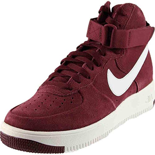 Nike Air Force 1 Ultraforce High Men's Shoes Dark Team Red/Summit White 880854-600 (8 D(M) US)