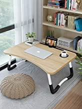 Bed Laptop Table Tray LapDesk eNotebook Stand with ipad Holder Cup Slot Adjustable Anti Slip Legs Foldable for Indoor Outd...
