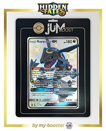 Rayquaza-GX 177A JUMBO Shiny - Jumboost X Sun & Moon 11.5Hidden Fates - Grote kaart