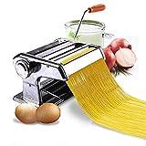 ADS™.Stainless Steel Pasta Maker & Roller Machine, Noodle Spaghetti & Fettuccine Maker