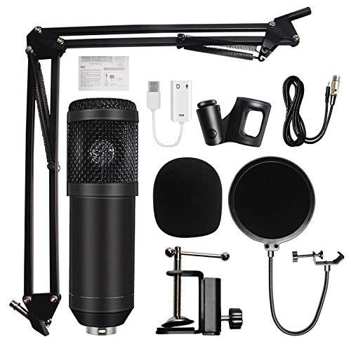 Mikrofon Yuan Ou Studiomikrofon Professionelles Kondensator-Tonaufnahmemikrofon Für Computer 4