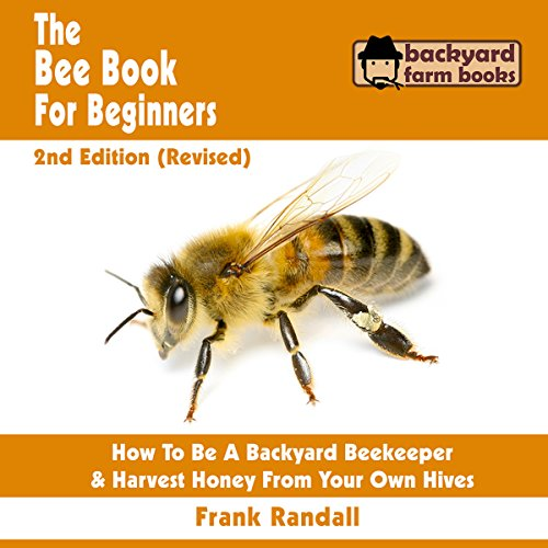 The Bee Book for Beginners audiobook cover art