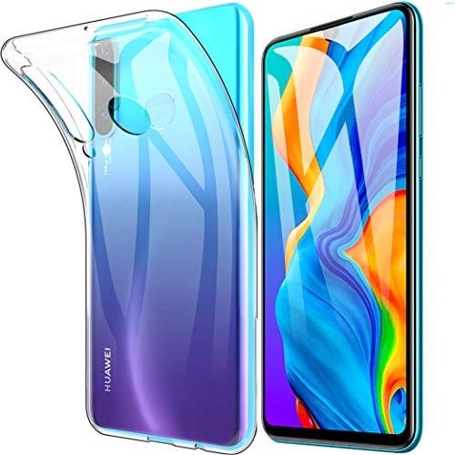 Beetop Kompatibel Mit Huawei P30 Lite Hülle Case Schutzhülle Weiche Silikon Schlank TPU Handyhülle Für Huawei P30Lite 2019 - Transparent