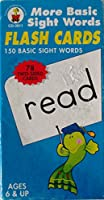 MORE BASIC SIGHT WORDS FLASH CARDS by Carson Dellosa