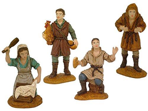 Oliver Caja 4 Figuras 8 cm. Durexina (lavandera)
