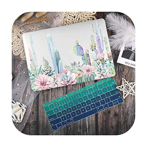 Case for MacBook Pro 13.3 Keyboard Cover for Laptop Marble Flower Design for MacBook Pro 13 2019 2020 Air 13.3 15 Inches Retina Touch Bar A2251 A1932-X108-Air 11 A1370 A1465