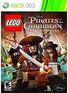 New Disney Interactive Lego Pirates Of The Caribbean Action Adventure Video Game Supports Xbox 360