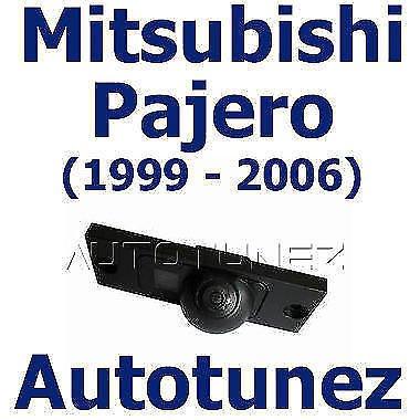 TUNEZ® Kit de caméra de recul pour voiture compatible avec Mitsubishi Pajero 1999–2006