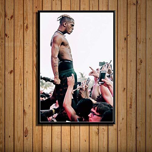Flduod Poster & DruckeRap Hip Hop Musik Star Leinwand Bilder an der Wand Moderne Wohnkultur Obrazy-No Frame 30x40cm