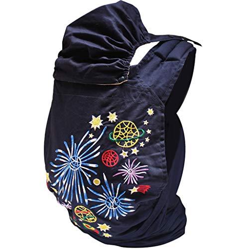 Ancienne Traditionnelle Bébé Sling Bébé Avant Hug Hug Back Simple Broderie Sling Sac À Dos Tenant Porte-bébé