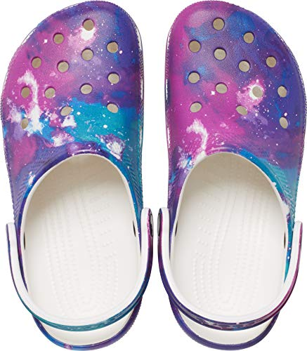 Crocs Classic Tie Dye Clog | Comfortable Slip on Water Shoes