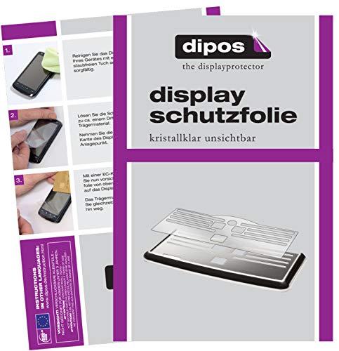 dipos 2X klare Schutzfolie kompatibel mit Philips EP5331/10 Tropfblech I Kaffeevollautomaten I Abtropfblech I Abtropfgitter kompatibel mit Kaffee-Maschine