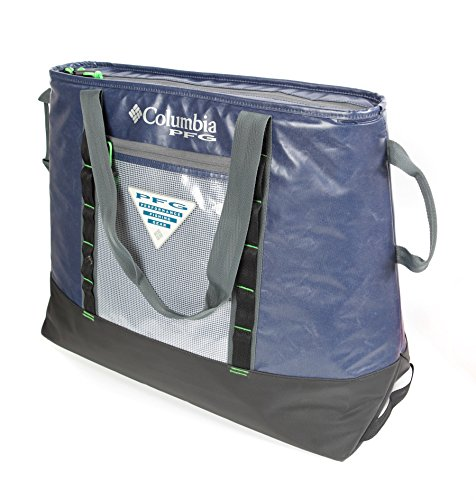 Columbia PFG 65 Can Perfect Cast Ultimate Thermal Tote, 45 L. Capacity, Collegiate Navy