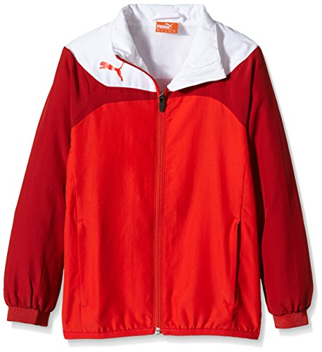PUMA Herren Jacke Esito 3 Leisure Jacket Red/White, XXL
