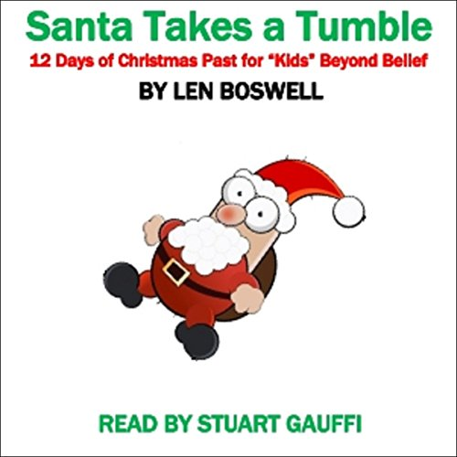Santa Takes a Tumble audiobook cover art