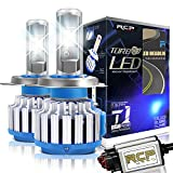 RCP H4 HB2 9003 LED Headlight CREE Bulbs Conversion Kits with Canbus, 80W