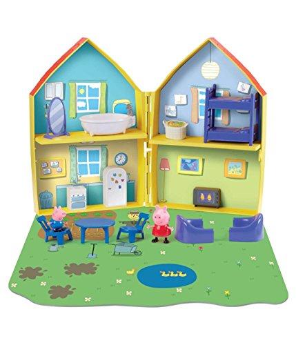 Peppa Pig Playset CASA APRIBILE Figure Peppa e George + Tanti Accessori Originale