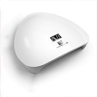 EA-Miao 45W LED Lámpara de uñas Gel Secador de Esmalte de uñas Máquina Secadora de uñas Lámpara de fotocurado con 15 Cuent...