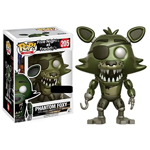 Funko- Five Nights At Freddy's-Phantom Foxy Figurina, Multicolore, 13871