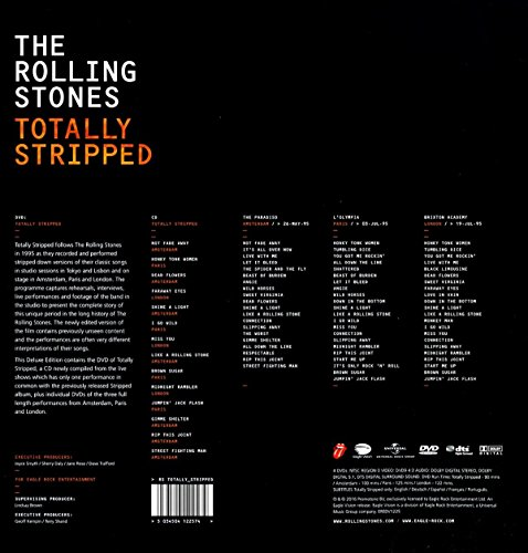 The Rolling Stones: Totally Stripped [4xDVD+CD] [NTSC]