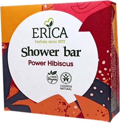 Erica - Barra de ducha Power Hibiscus - 95 gramos