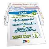 Pack Conceptos básicos Educación Infantil 1   Editorial Geu   mejora la atención Grafomotricidad y preescritura   Desarrolla Razonamiento matemático (Niños de 3 a 5 años)