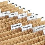 Elba vertic ULTIMATE 250 Etichette per cartelle a sospensione laterale %2F58 40 x 40% 2FCardboard %2FDots 18 mm, colore neutro