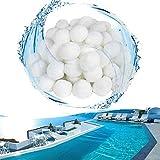 YUFF Bolas filtrantes de 1400 g, 50 mm, material de filtro respetuoso con el medio ambiente, puede reemplazar 50 kg de arena de filtro, bolas de filtro para piscina, acuario y bomba de filtro