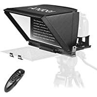 Andoer A12 Portable Teleprompter with Remote Control Carry Case