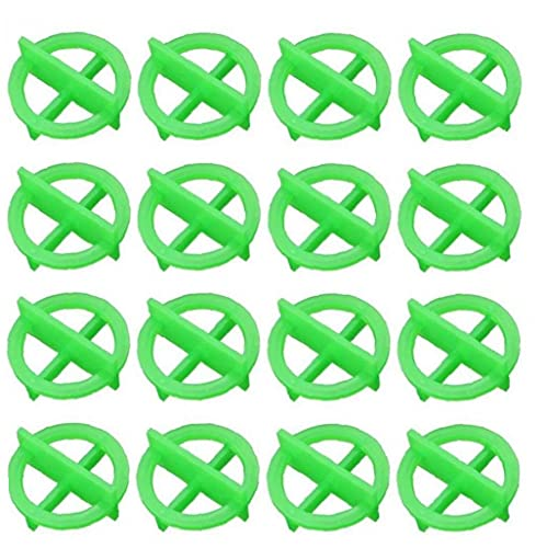 Zonster Teja 100pcs Extraíble De Plástico Alineación Cruz De Hendidura Localizador De Colocacion De Suelo De Nivelación