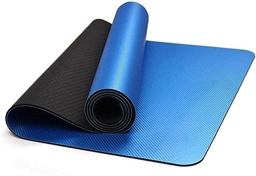 el estilo clásico FORTR Home Estera de Yoga ecológica ecológica ecológica azul de 6 mm Estera de Yoga para Gimnasia Deliciosa Estera de Yoga Familiar  online al mejor precio
