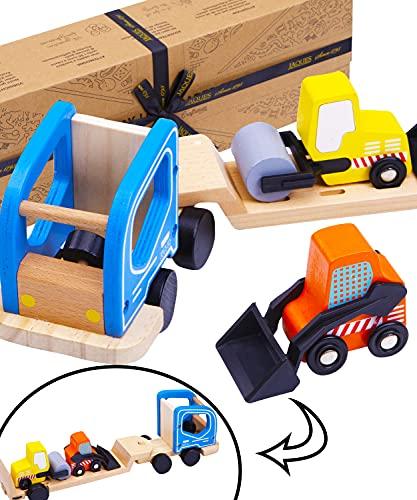 Jaques of London Konstruktionsspielzeug Holz - Qualität Auto Spielzeug und holzspielzeug 2 3 4 5 6 7 Jahre Seit 1795